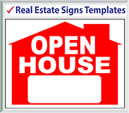 Browse Real Estate Signs Templates