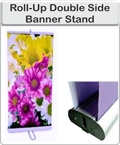 Order Double sided banner stand