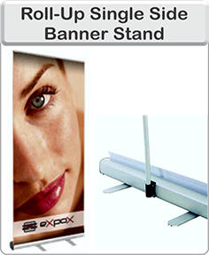 Order single side banner stand